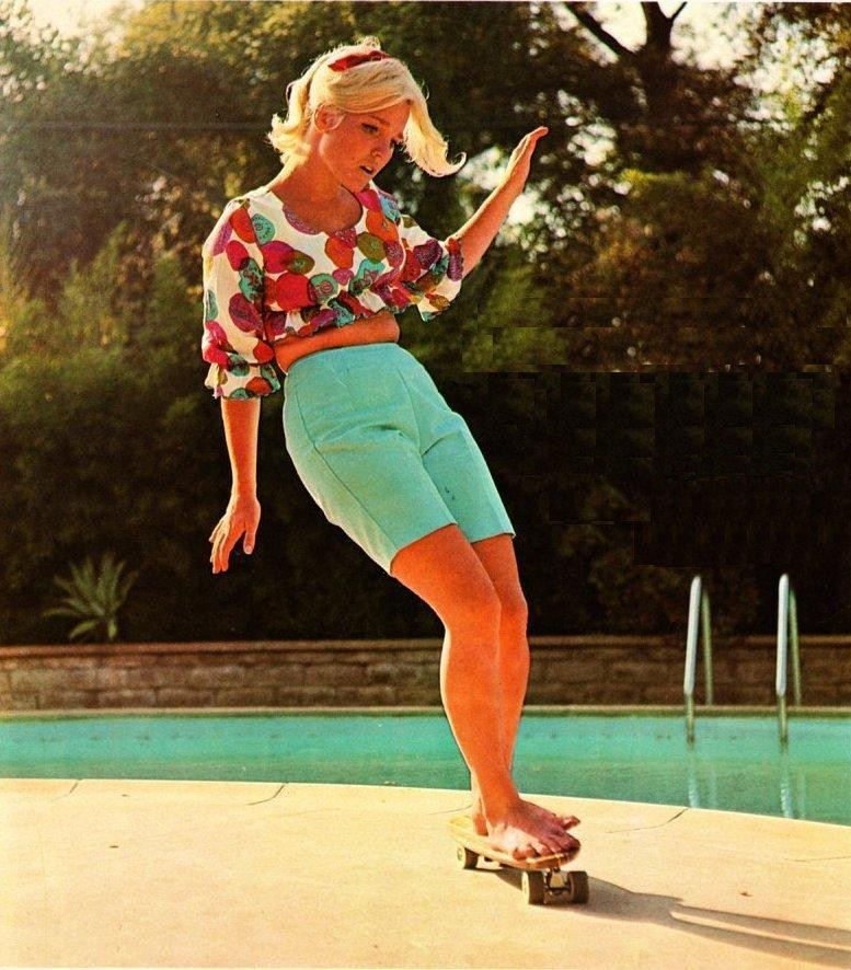 Girl Skaters of the 70's