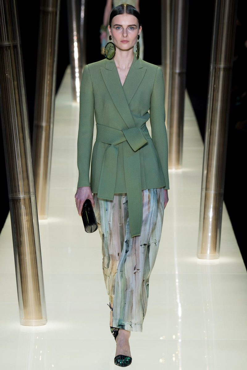Armani Privé Haute Couture SS 2015 Paris (16)