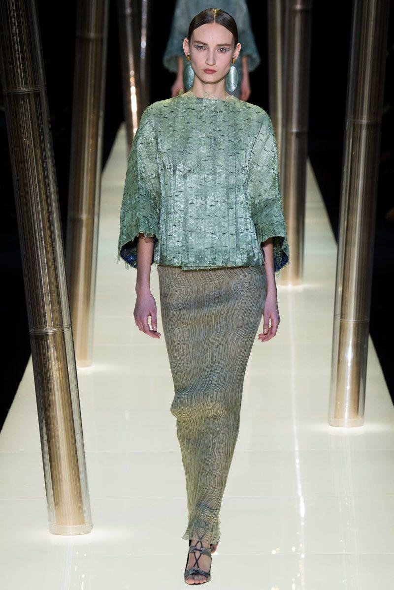 Armani Privé Haute Couture SS 2015 Paris (19)