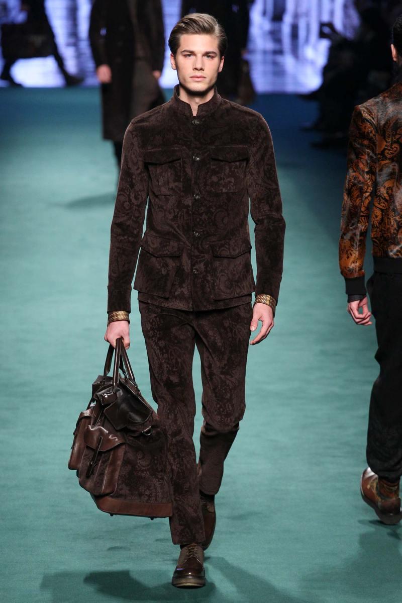 Etro Menswear FW 2015 Milan (7)