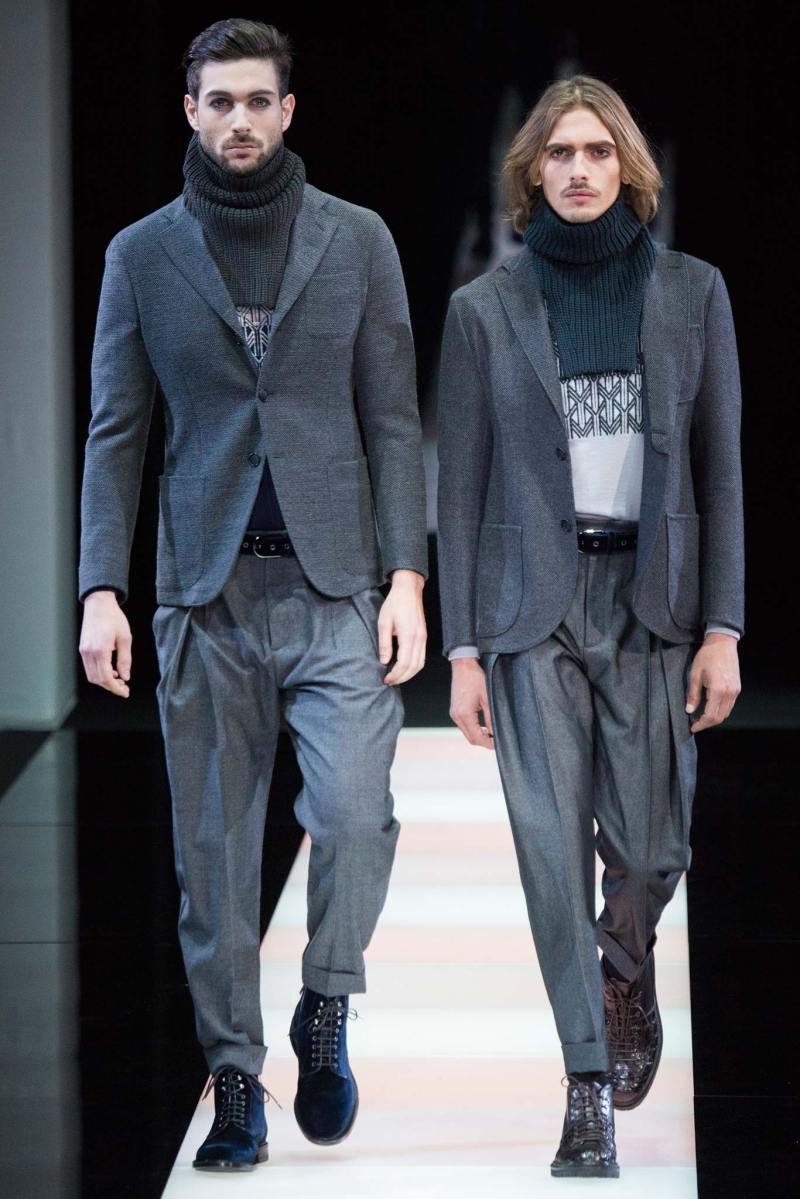Giorgio Armani Menswear FW 2015 Milan (11)