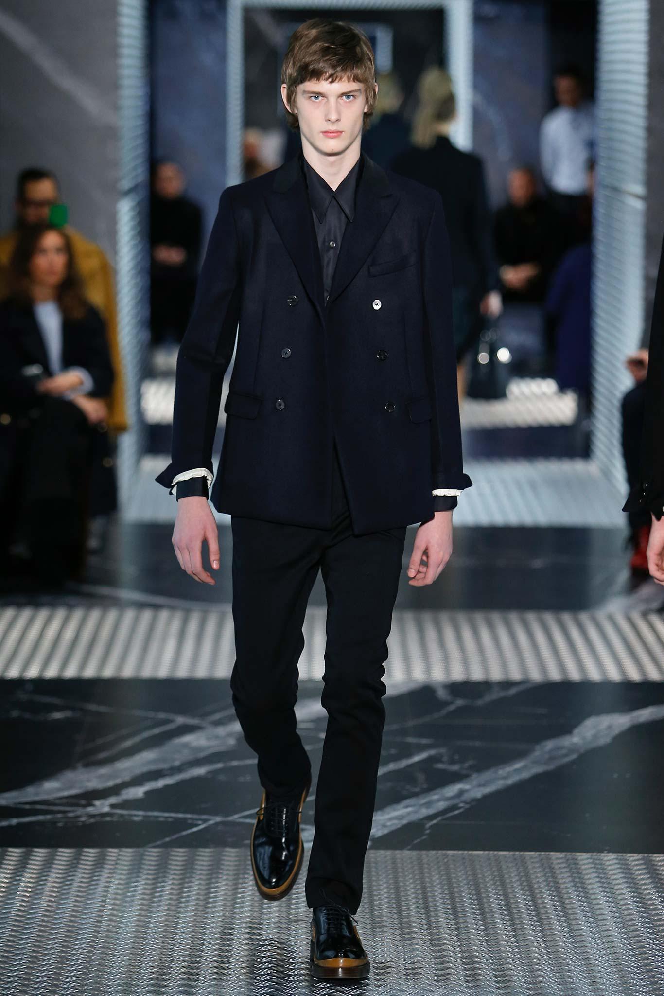 Prada Menswear F/W 2015 Milan