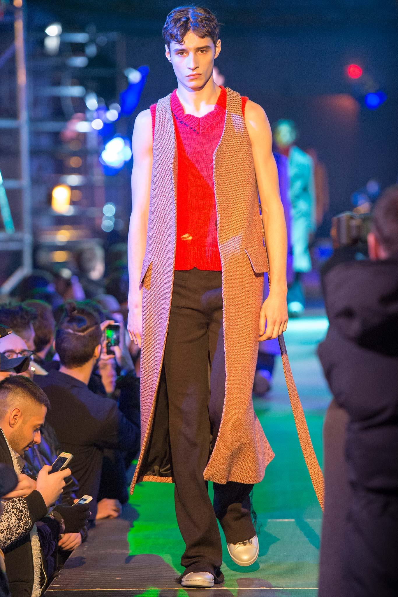 Raf Simons Menswear FW 2015 Paris