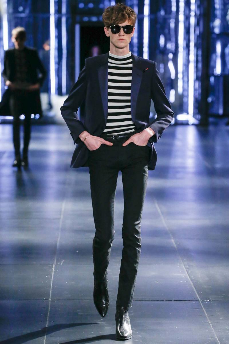 Saint Laurent Menswear FW 2015 Paris (11)