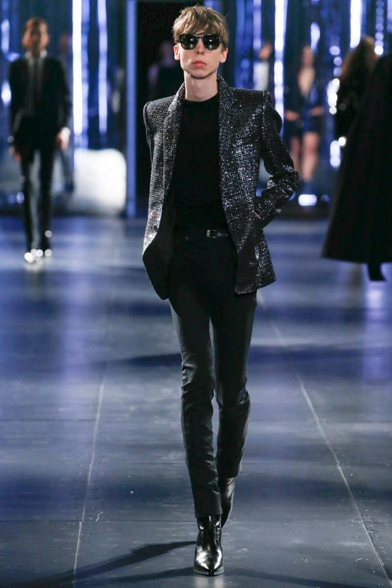 Saint Laurent Menswear FW 2015 Paris (60)