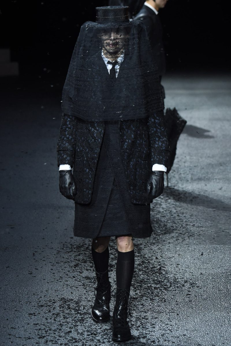 Thom Browne Menswear FW 2015 Paris (10)