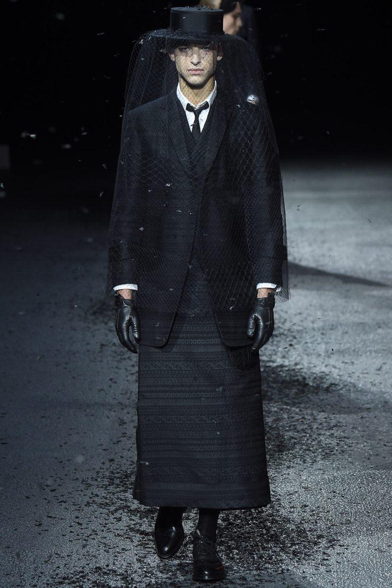 Thom Browne Menswear FW 2015 Paris (17)
