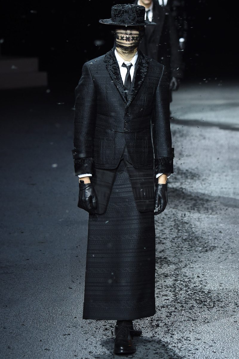 Thom Browne Menswear FW 2015 Paris (2)