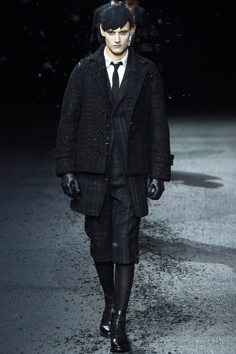 Thom Browne Menswear FW 2015 Paris (3)