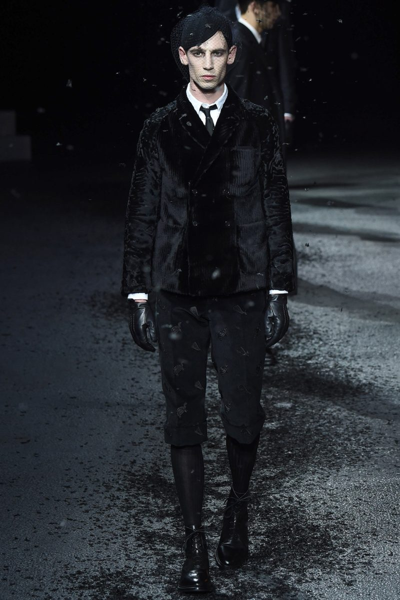 Thom Browne Menswear FW 2015 Paris (30)