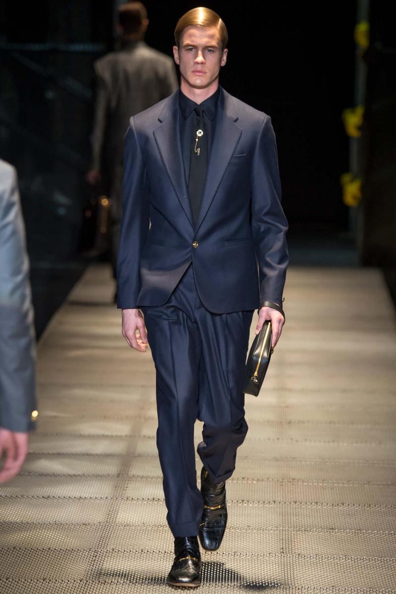 Versace Menswear FW 2015 Milan (7)