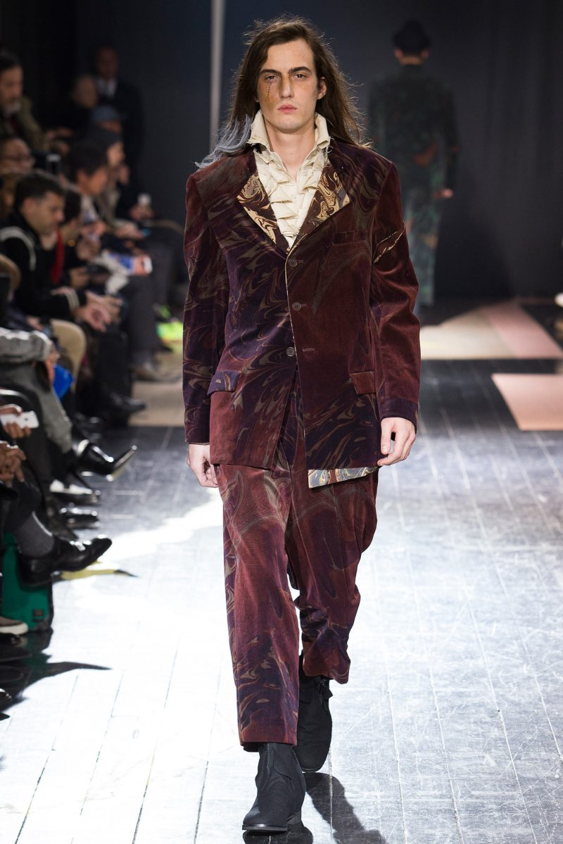 Yohji Yamamoto Menswear FW 2015 Paris (12)