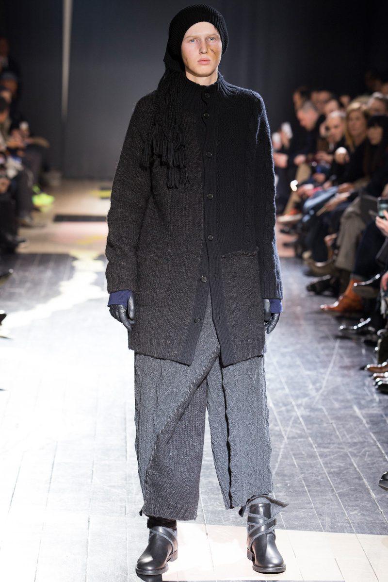 Yohji Yamamoto Menswear FW 2015 Paris (15)