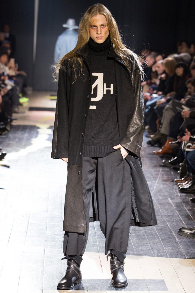 Yohji Yamamoto Menswear FW 2015 Paris (17)