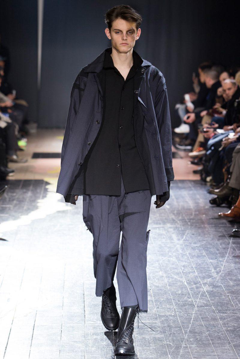 Yohji Yamamoto Menswear FW 2015 Paris (20)