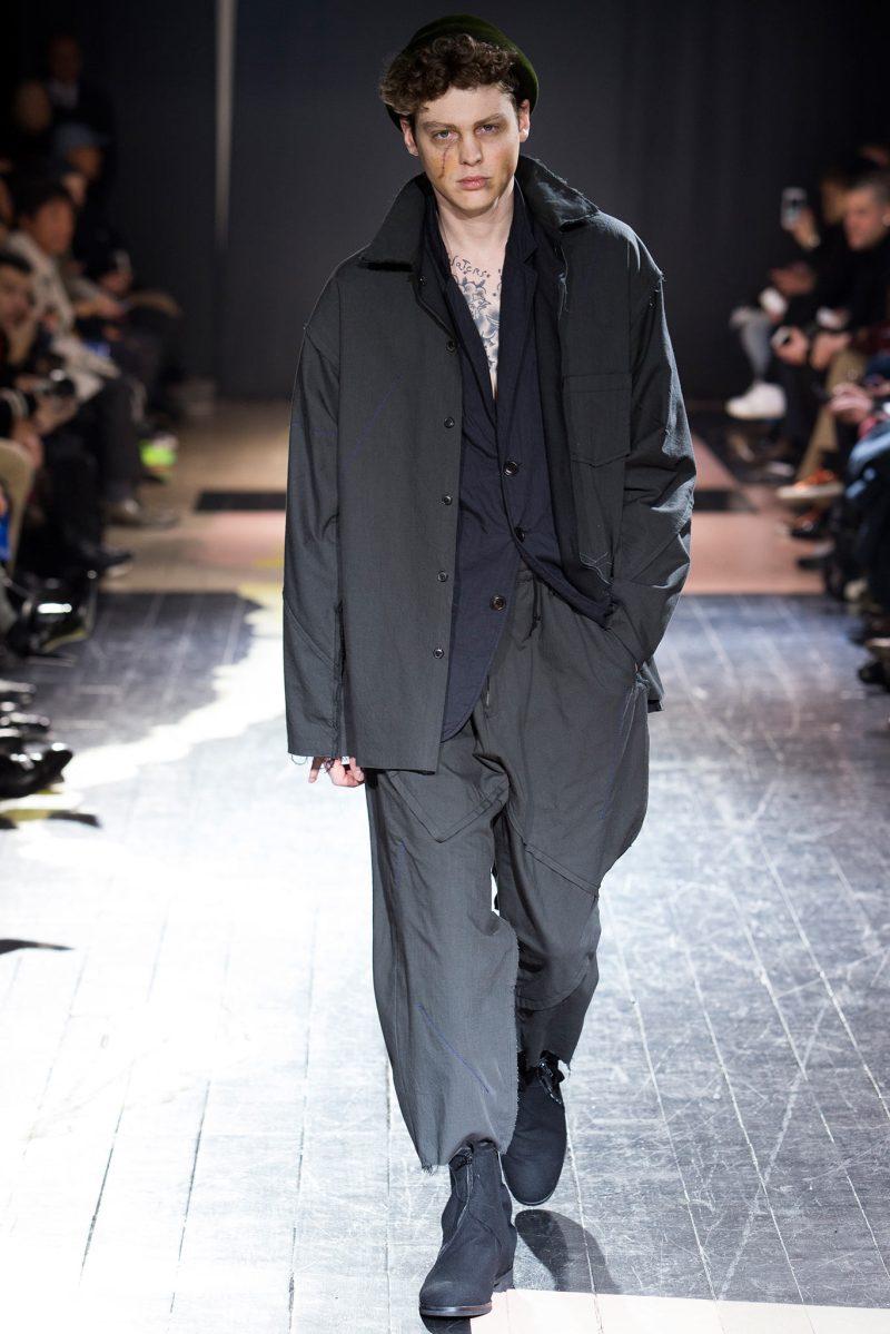 Yohji Yamamoto Menswear FW 2015 Paris (21)