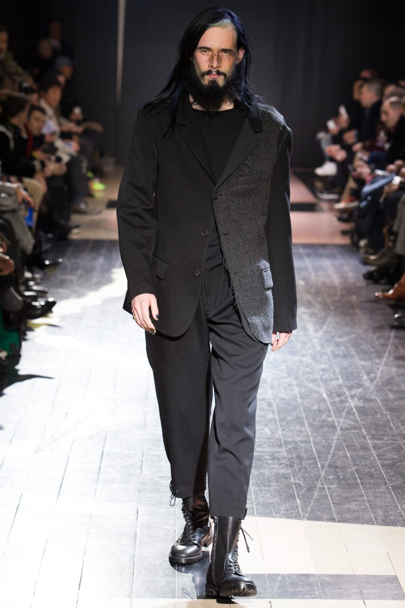 Yohji Yamamoto Menswear FW 2015 Paris (24)