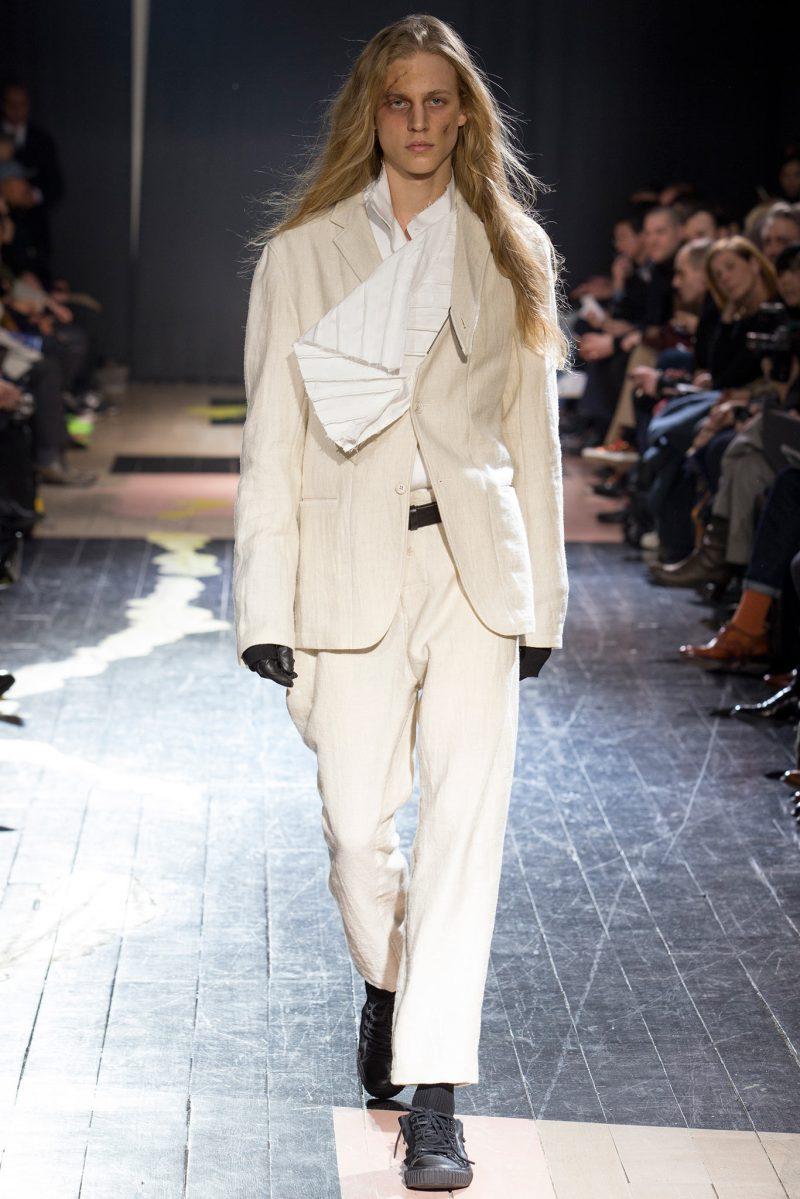 Yohji Yamamoto Menswear FW 2015 Paris (3)