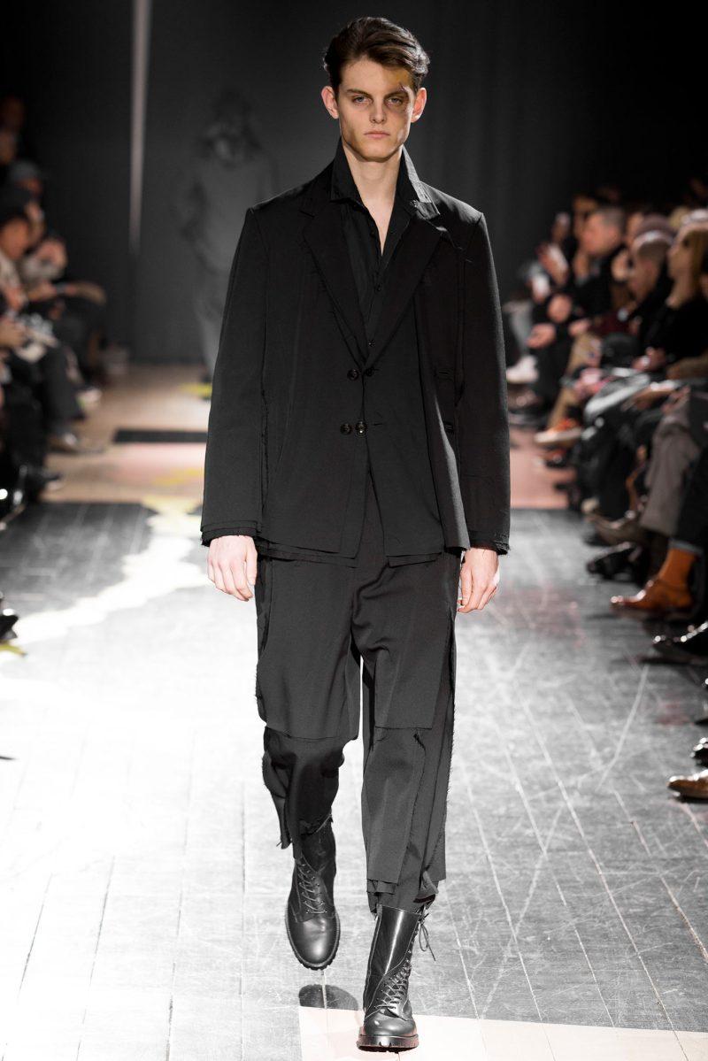 Yohji Yamamoto Menswear FW 2015 Paris (33)