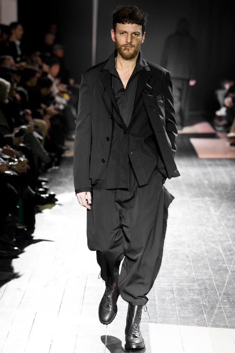 Yohji Yamamoto Menswear FW 2015 Paris (38)