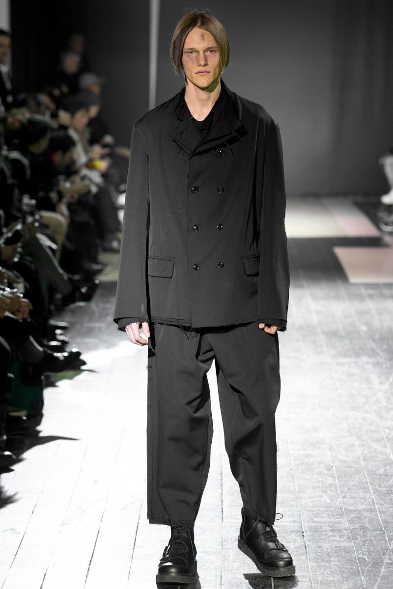 Yohji Yamamoto Menswear FW 2015 Paris (40)