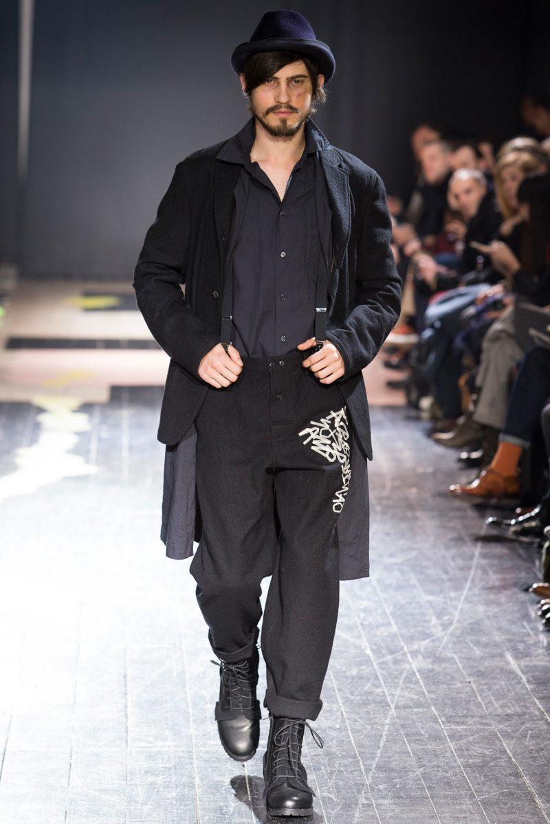 Yohji Yamamoto Menswear FW 2015 Paris (6)