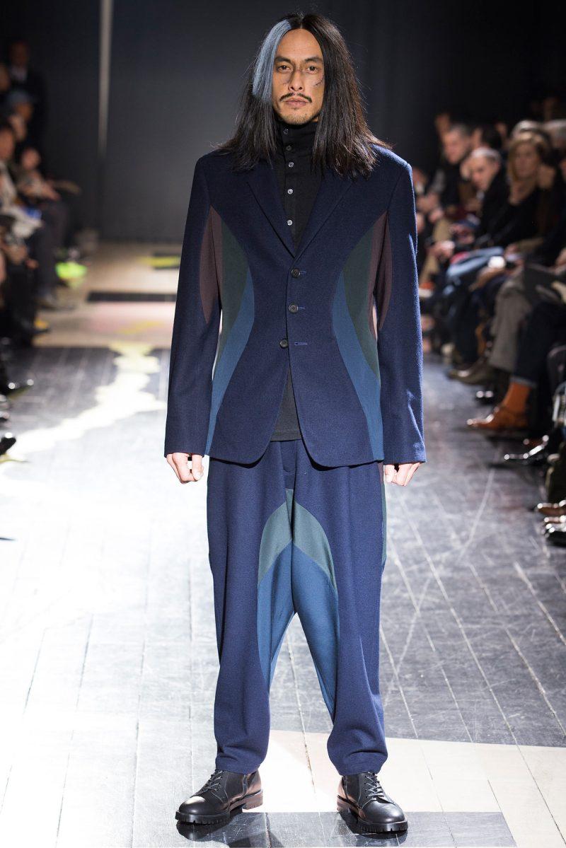 Yohji Yamamoto Menswear FW 2015 Paris (7)