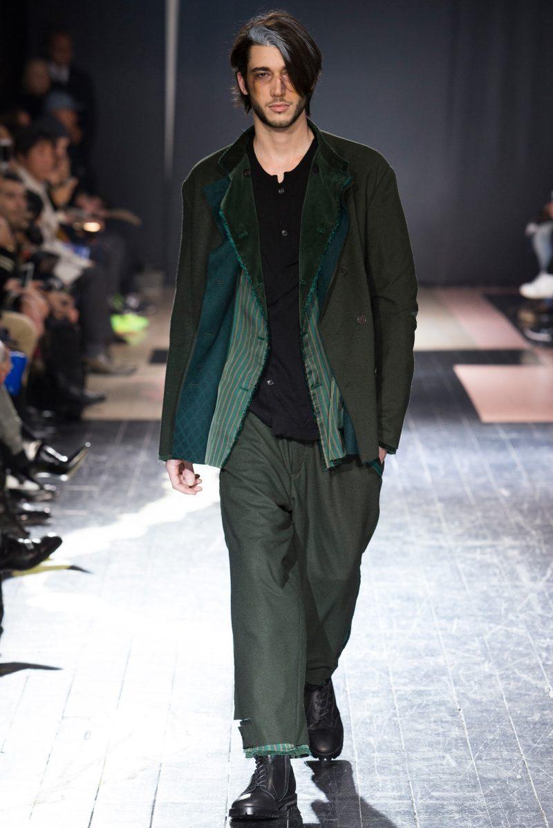 Yohji Yamamoto Menswear FW 2015 Paris (8)