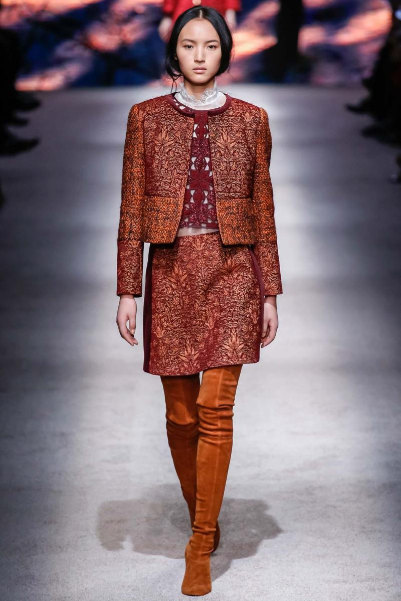 Alberta Ferretti Ready to Wear FW 2015 LFW (21)
