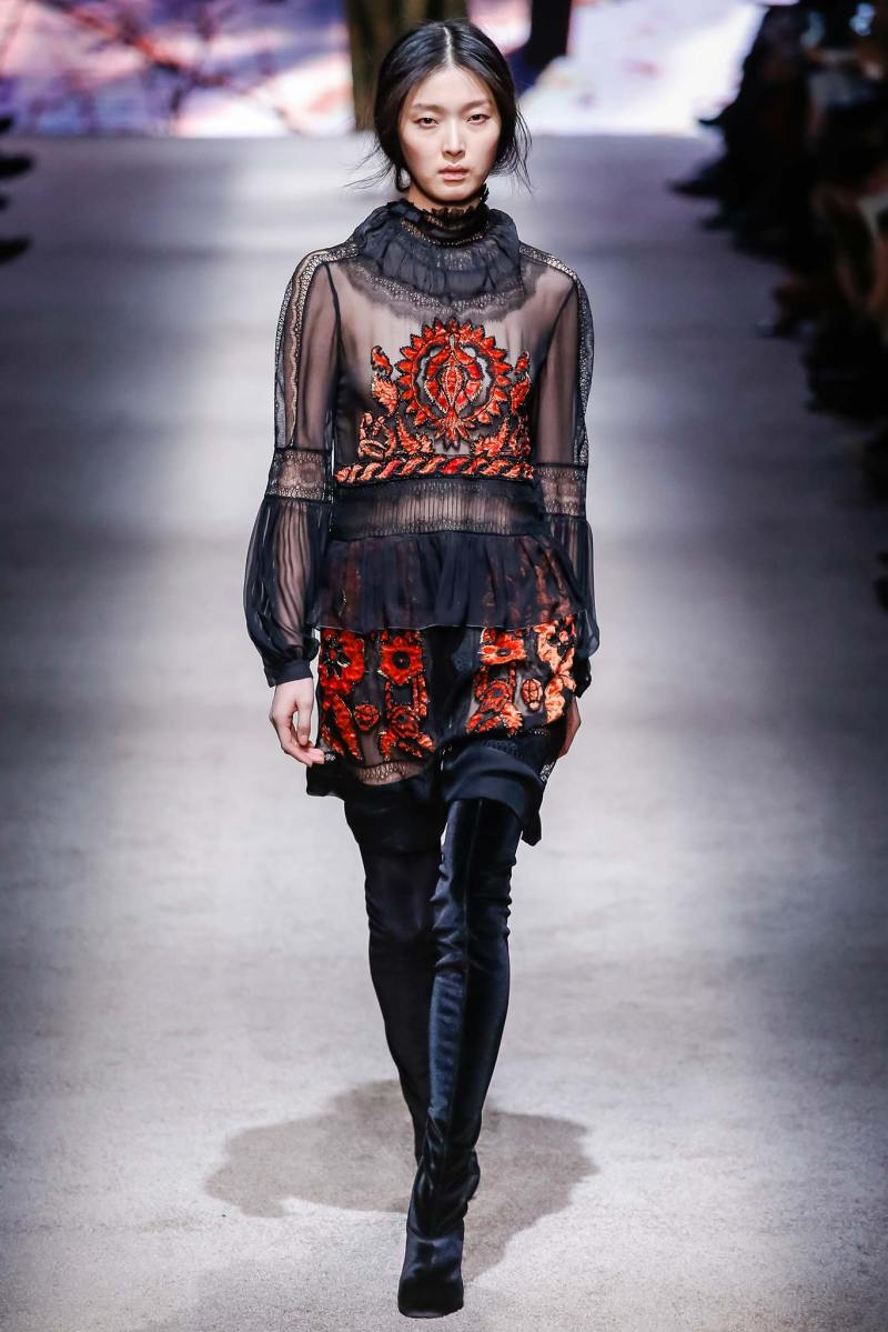 Alberta Ferretti Ready to Wear FW 2015 LFW (27)
