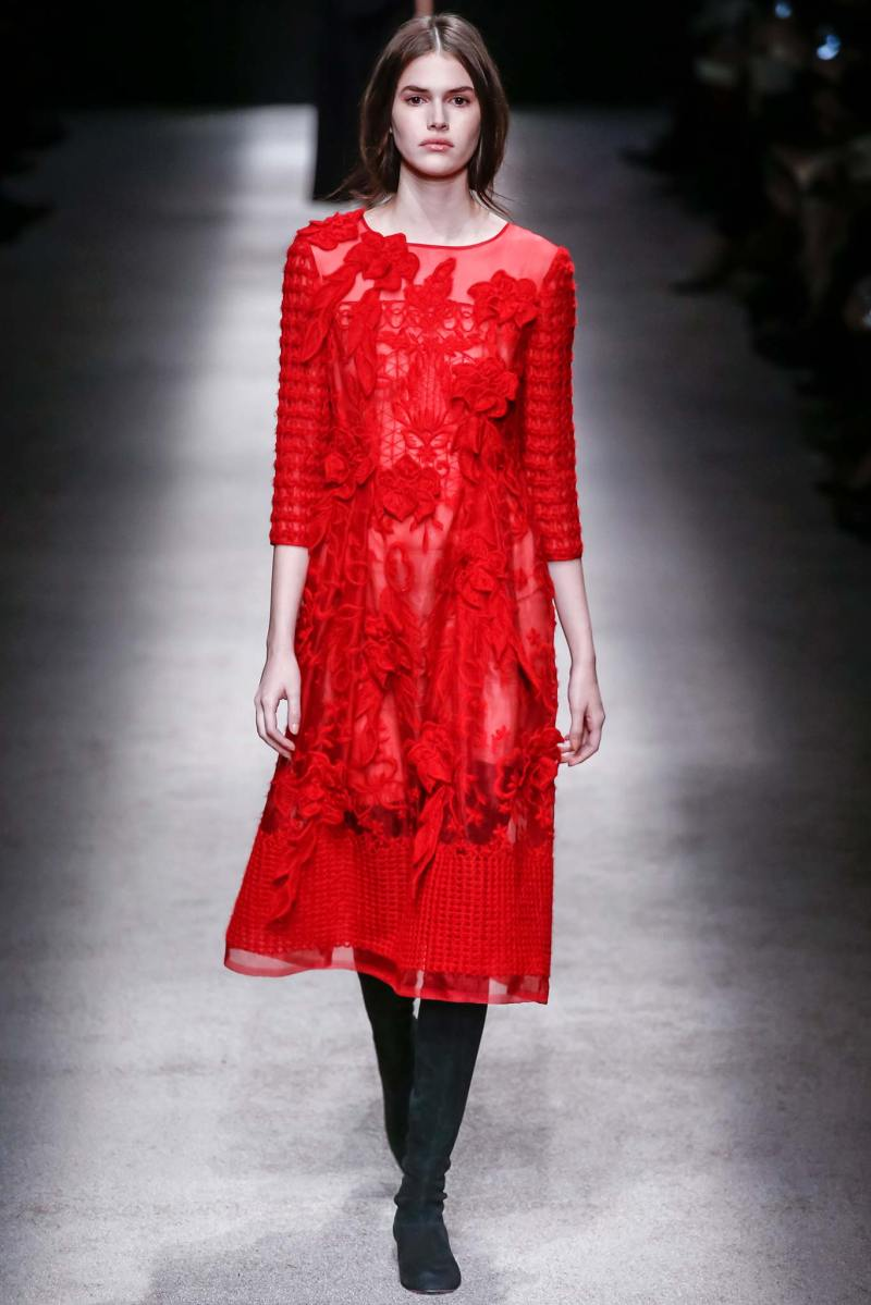 Alberta Ferretti Ready to Wear FW 2015 LFW (3)