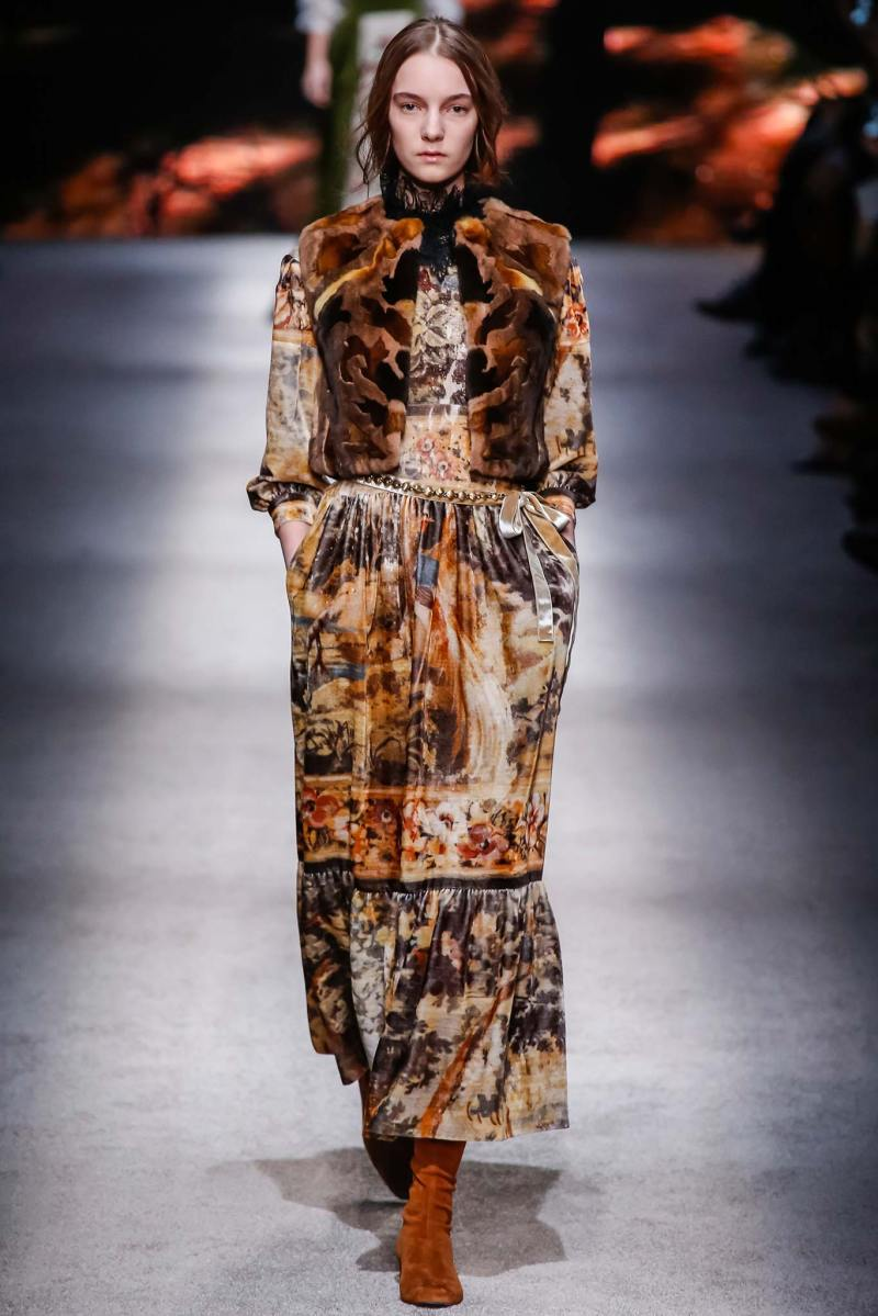 Alberta Ferretti Ready to Wear FW 2015 LFW (31)