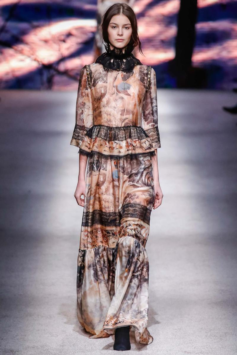 Alberta Ferretti Ready to Wear FW 2015 LFW (34)