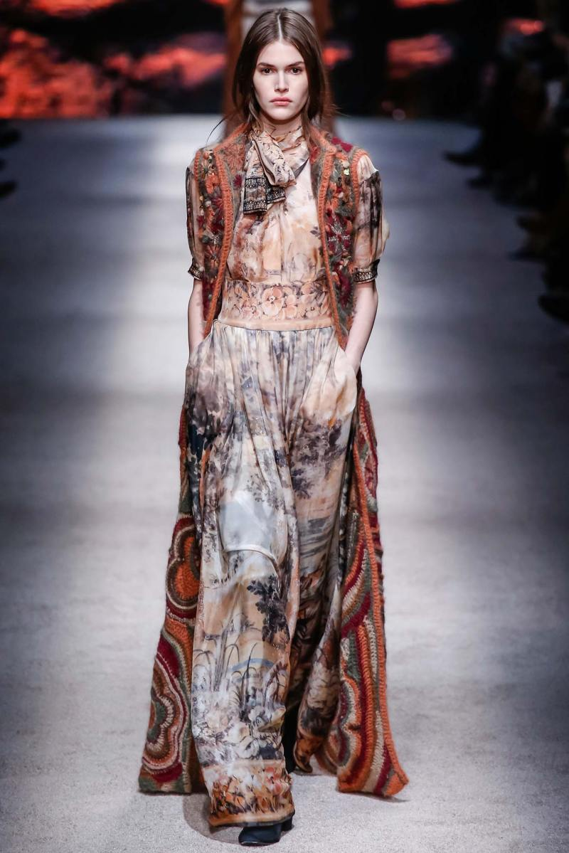 Alberta Ferretti Ready to Wear FW 2015 LFW (35)