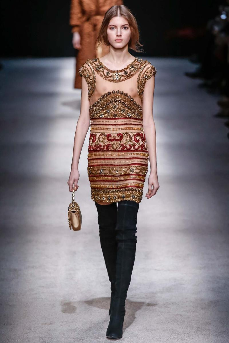Alberta Ferretti Ready to Wear FW 2015 LFW (42)