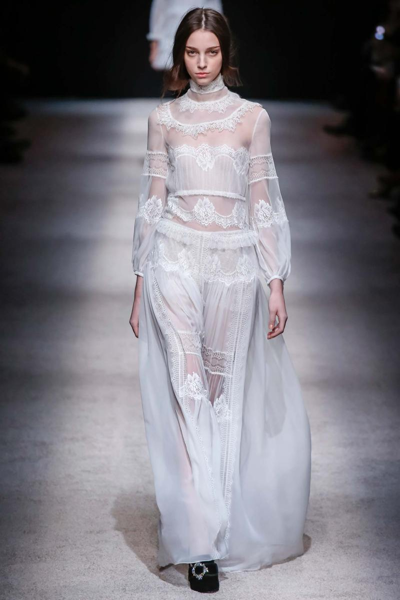 Alberta Ferretti Ready to Wear FW 2015 LFW (45)