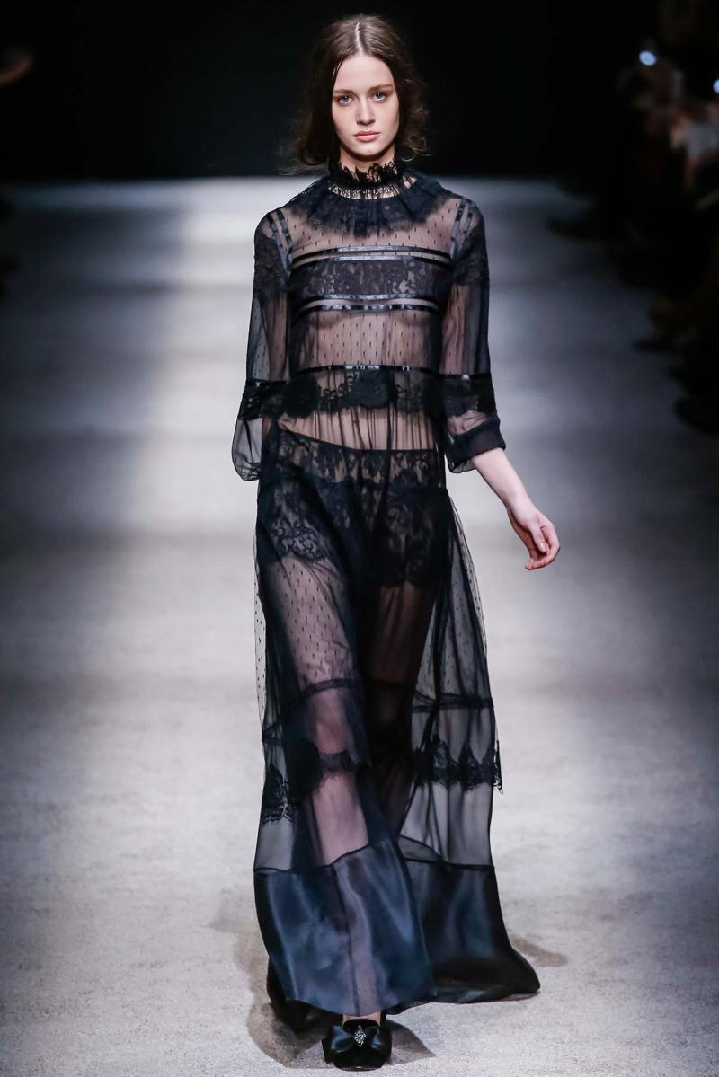 Alberta Ferretti Ready to Wear FW 2015 LFW (50)