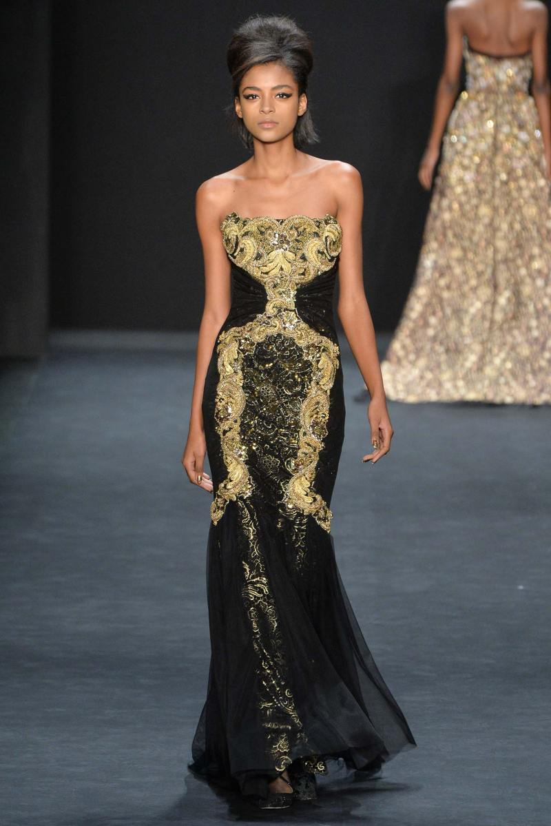 Badgley Mischka Ready to Wear FW 2015 NYFW (10)