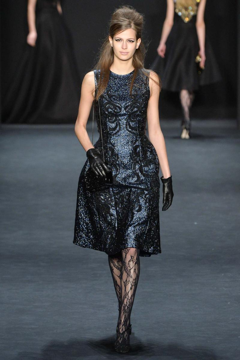 Badgley Mischka Ready to Wear FW 2015 NYFW (13)