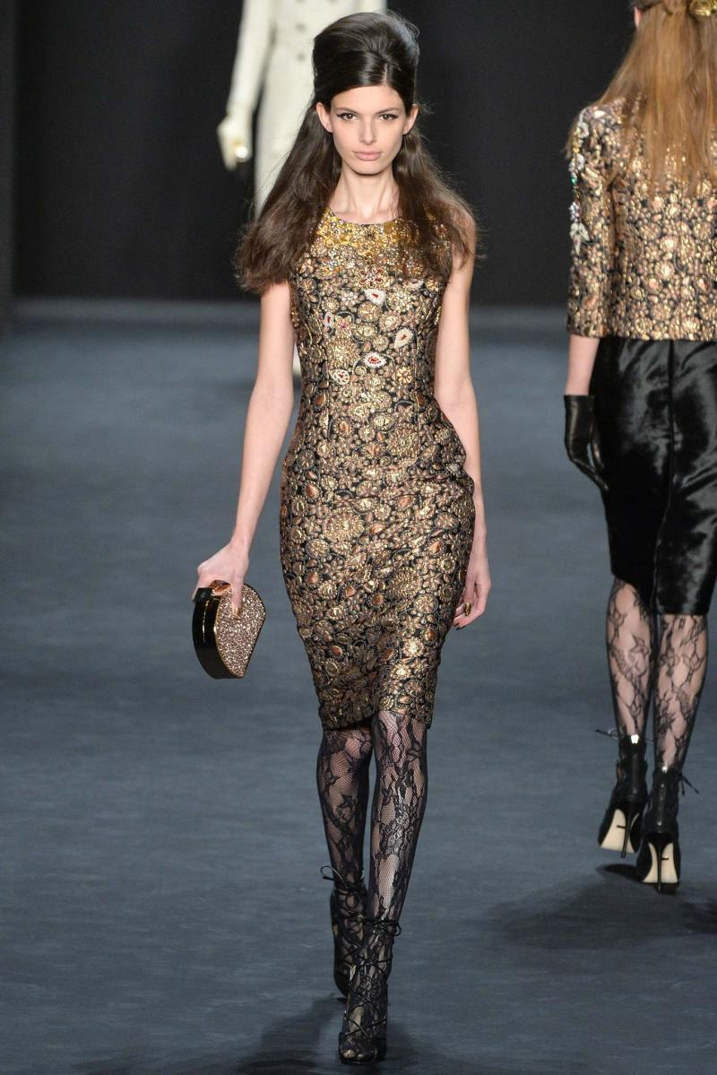 Badgley Mischka Ready to Wear FW 2015 NYFW (2)