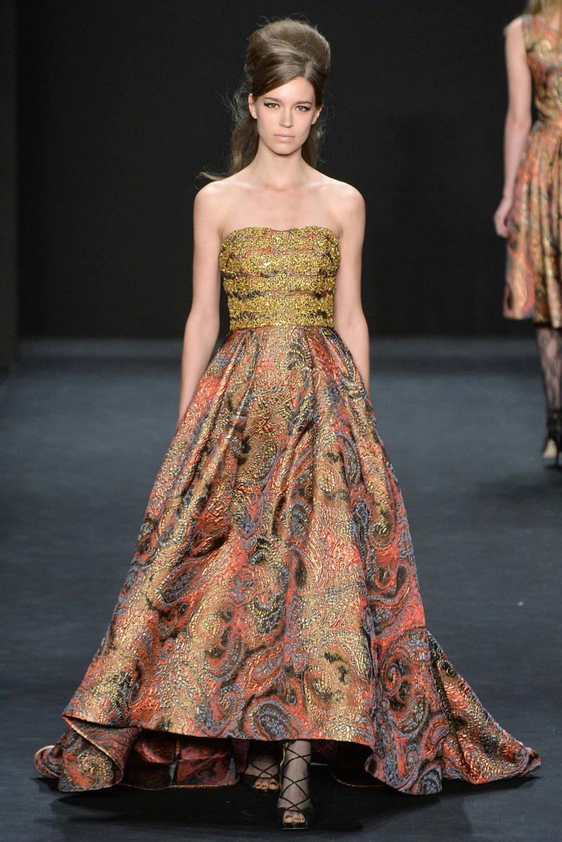 Badgley Mischka Ready to Wear FW 2015 NYFW (25)
