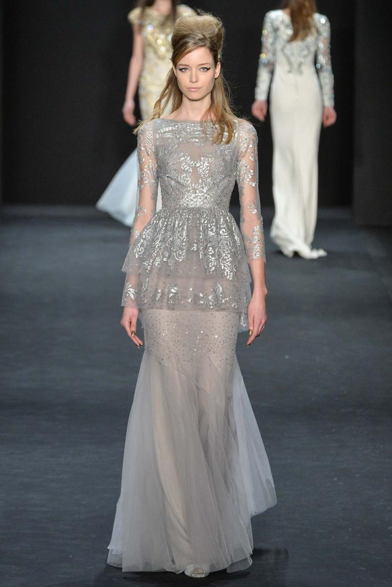 Badgley Mischka Ready to Wear FW 2015 NYFW (33)