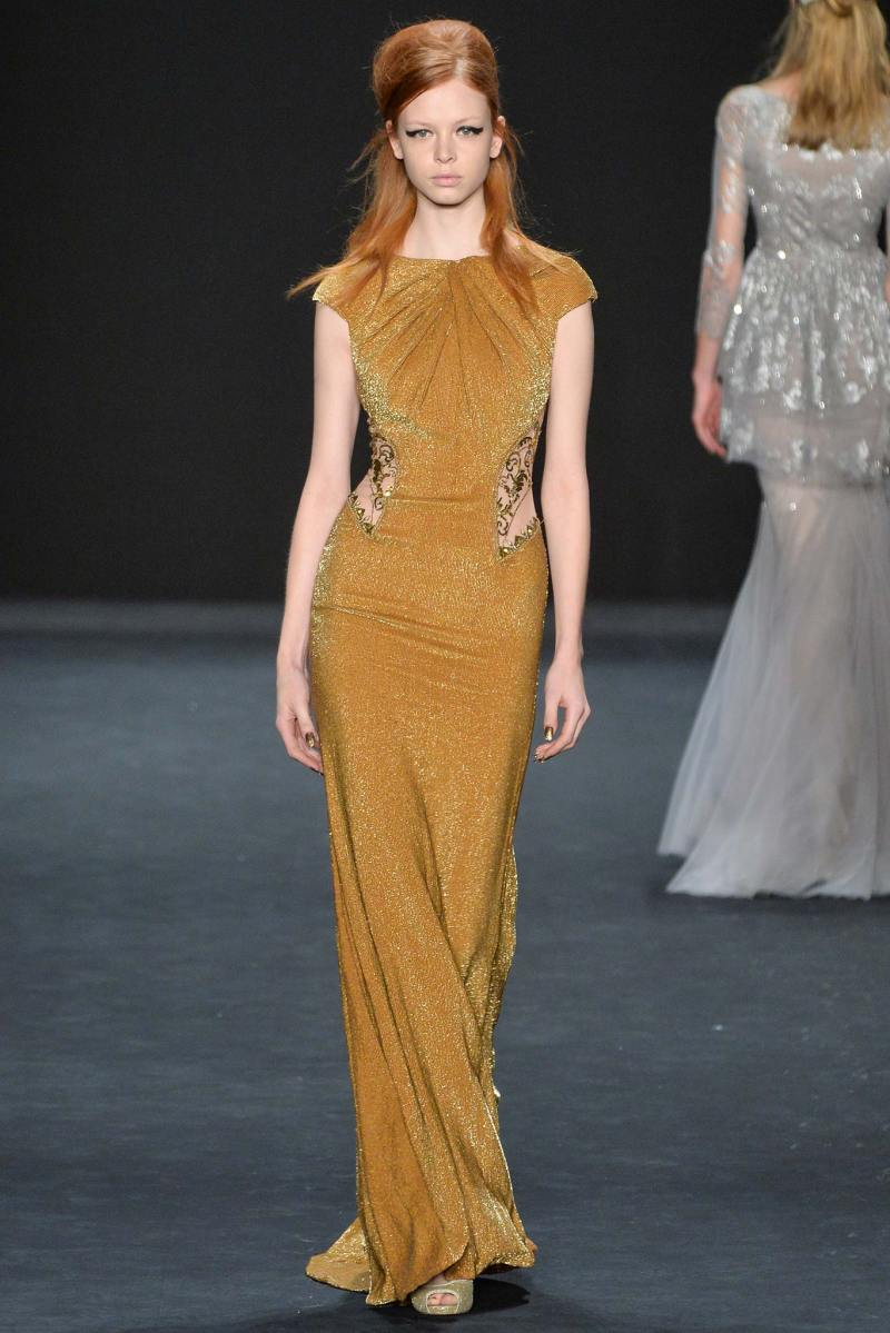 Badgley Mischka Ready to Wear FW 2015 NYFW (35)