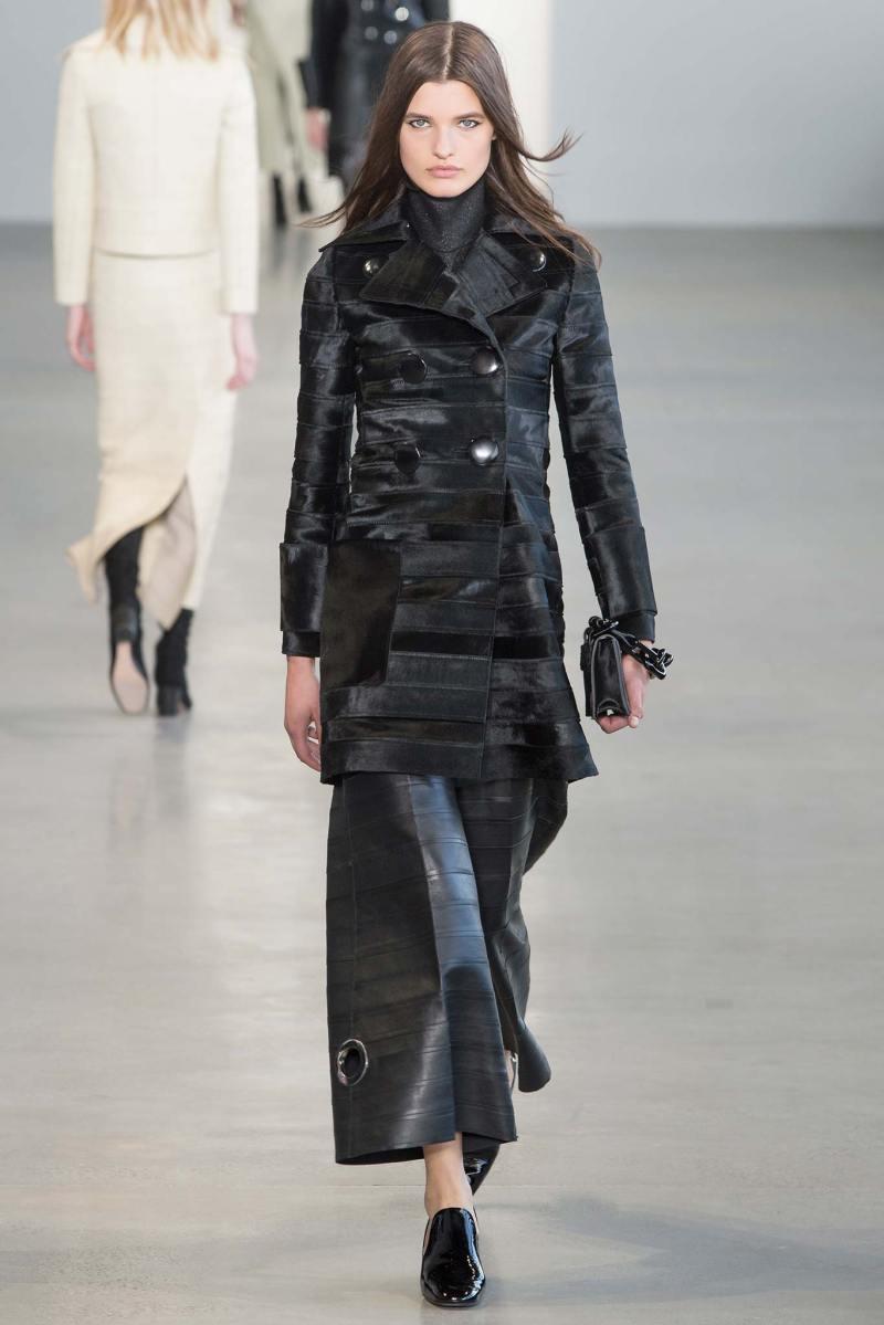 Calvin Klein Collection Ready to Wear FW 2015 NYFW (21)