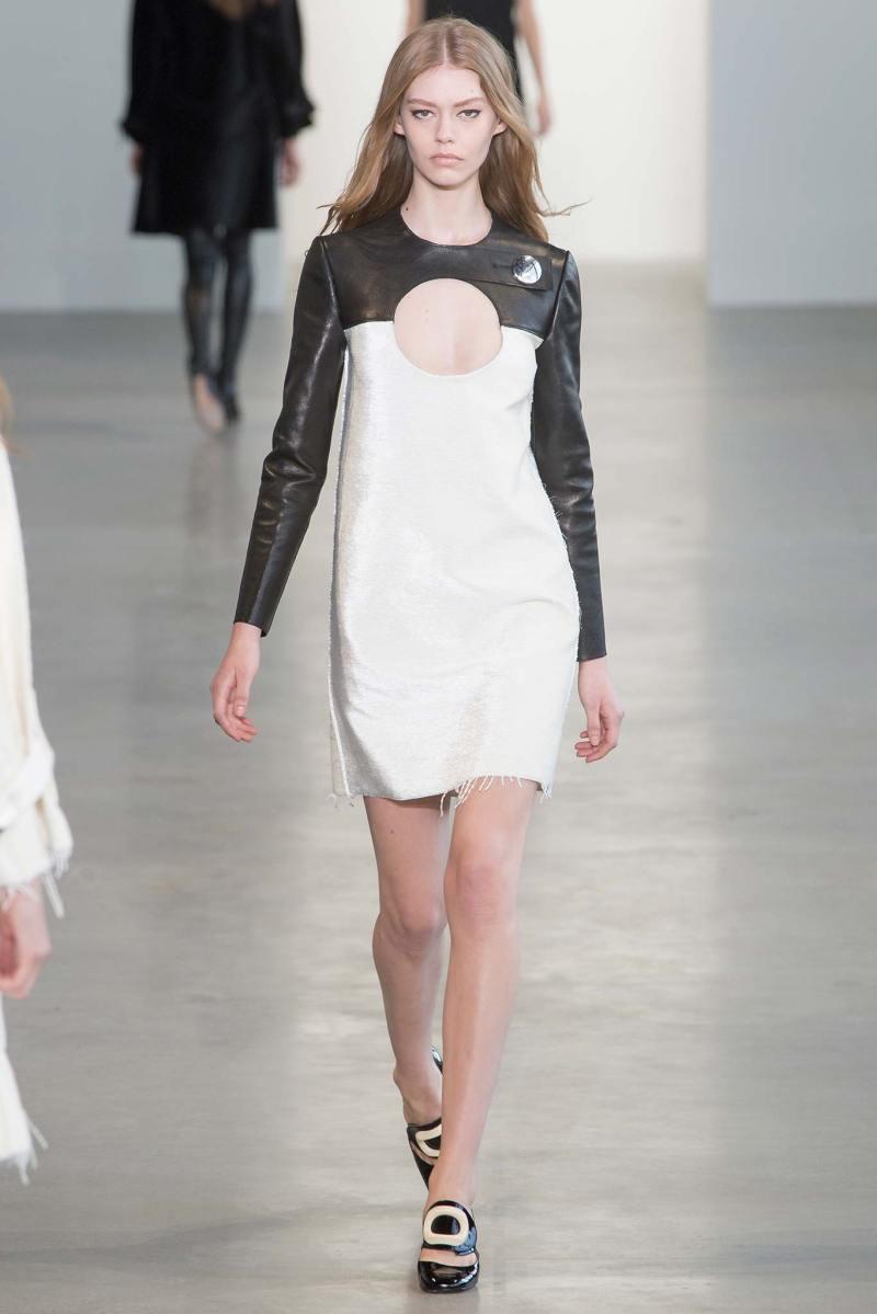 Calvin Klein Collection Ready to Wear FW 2015 NYFW (31)