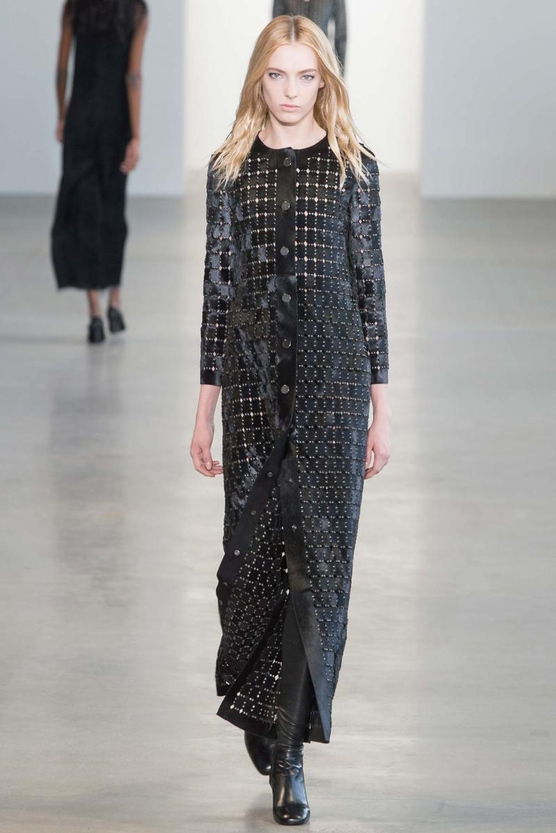 Calvin Klein Collection Ready to Wear FW 2015 NYFW (37)
