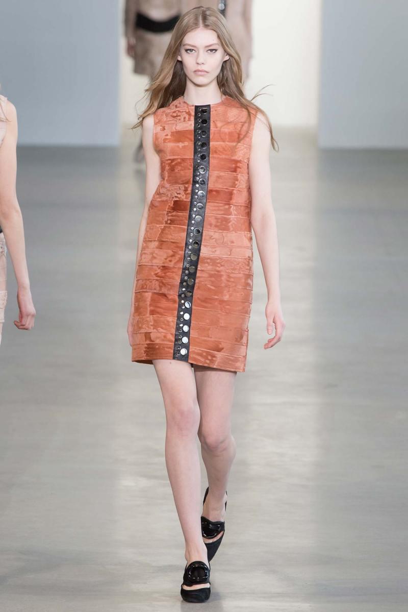 Calvin Klein Collection Ready to Wear FW 2015 NYFW (6)