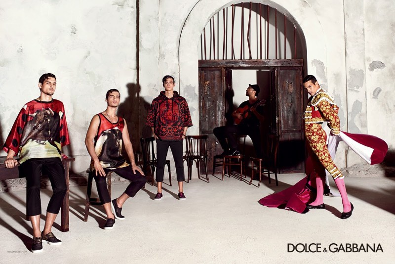 DOLCE & GABBANA SS 2015 Campaign