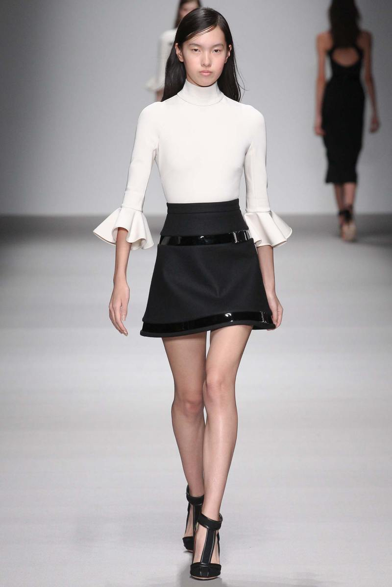 David Koma Ready to Wear FW 2015 LFW (12)