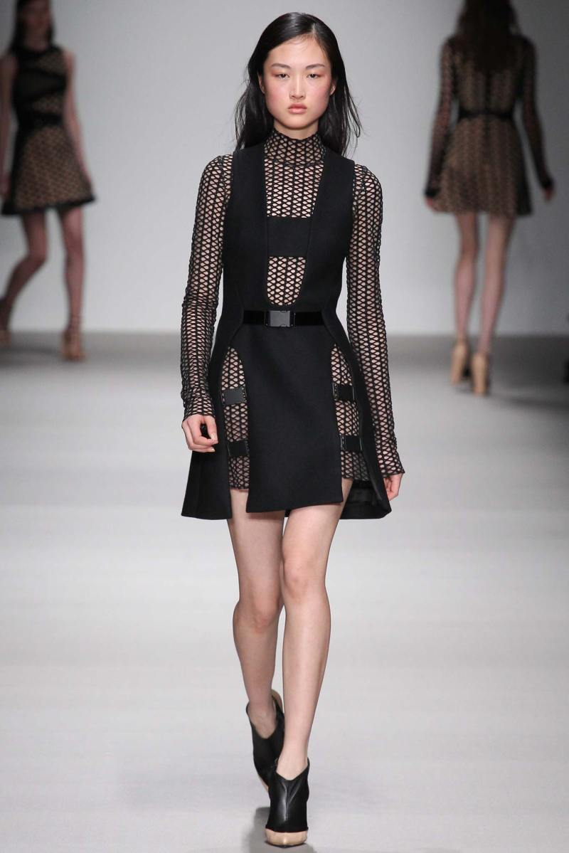 David Koma Ready to Wear FW 2015 LFW (24)